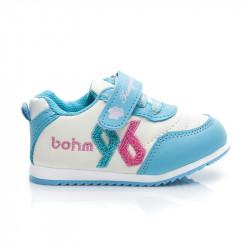 Modré športové detské topánočky