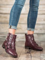 Originálne  dámske  členkové topánky