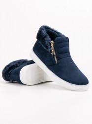 Pekné   členkové topánky dámske