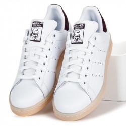 Perforované biele tenisky Adidas