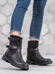 Pohodlné dámske   členkové topánky