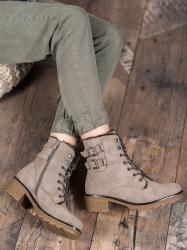 Praktické dámske  členkové topánky