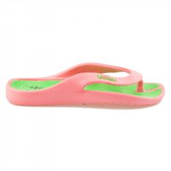 Ružové pohodlné žabky na leto