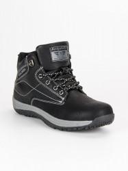 Športové čierne pánske topánky