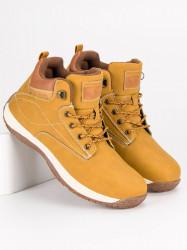 Športové žlté pánske topánky
