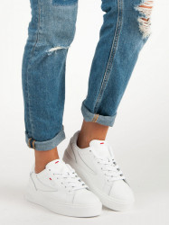 Štýlové biele tenisky od značky Fila