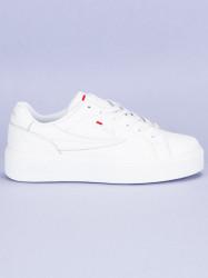 Štýlové biele tenisky od značky Fila #1