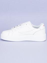 Štýlové biele tenisky od značky Fila #3