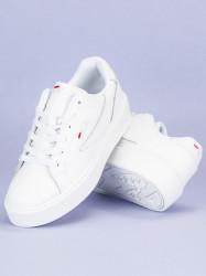 Štýlové biele tenisky od značky Fila #4