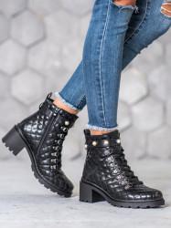 štýlové dámske   členkové topánky #1