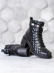 štýlové dámske   členkové topánky #4