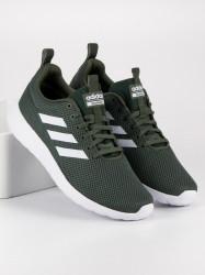 Štýlové pánske zelené  tenisky a športová obuv bez podpätku