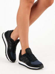 Trendy dámske čierne   bez podpätku