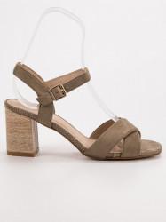 Trendy  dámske  sandále #1