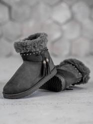 Trendy dámske  snehule #4