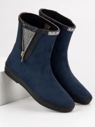 Trendy   modré dámske bez podpätku #1