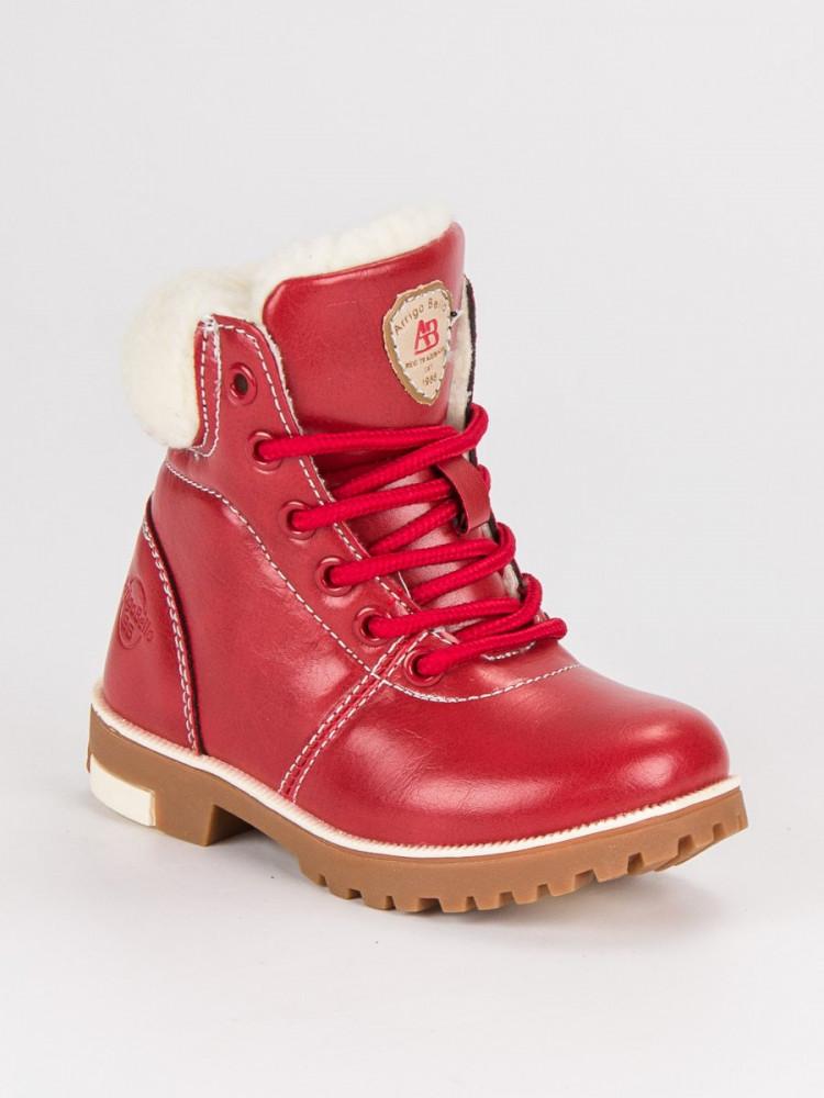 Červené detské topánky na suchý zips - Detské čižmy - Locca.sk f53df6a78c6