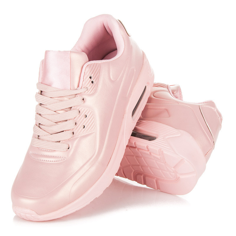 704ca4b75962 Dámske ružové štýlové športové tenisky - Dámske členkové tenisky ...