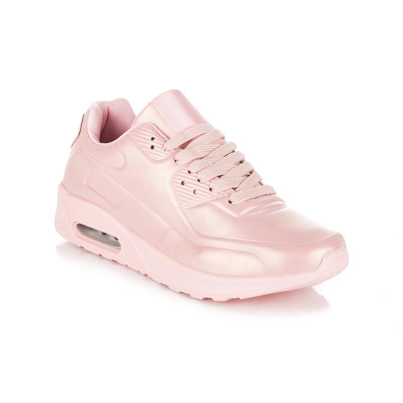 2f4a44200821 Dámske ružové štýlové športové tenisky - Dámske členkové tenisky ...