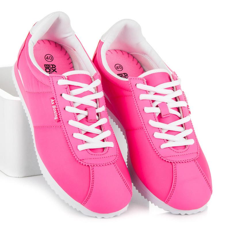 98a49b68ea6d Dámske ružové tenisky pre sport - Dámske športové tenisky - Locca.sk