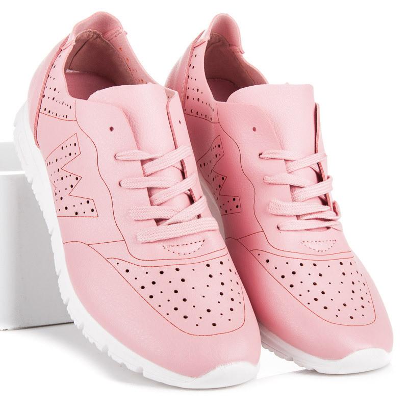 4970801fea87 Dámske ružové tenisky pre sport - Dámske členkové tenisky - Locca.sk