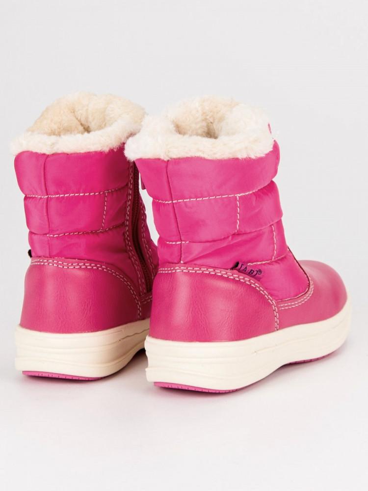 1a362f6eac96c Detské ružové snehule s hrejivým kožúškom - Detské snehule - Locca.sk