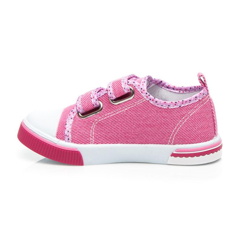 09770f43dba2 Detské ružové tenisky na suchý zips - Detské tenisky - Locca.sk