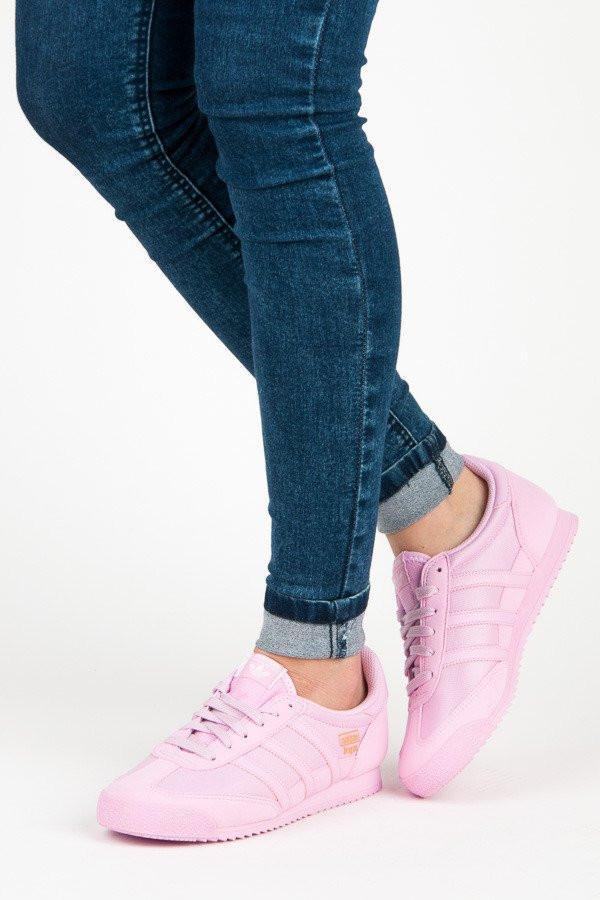 f5b29fd2c Krásne ružové textilné tenisky zn.Adidas - Dámske členkové tenisky ...