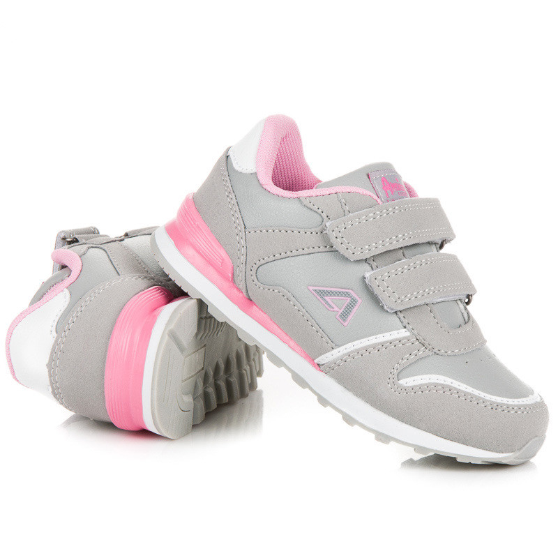 12e0a2ef186c Moderné detské strieborné tenisky a športové topánky bez podpätku ...