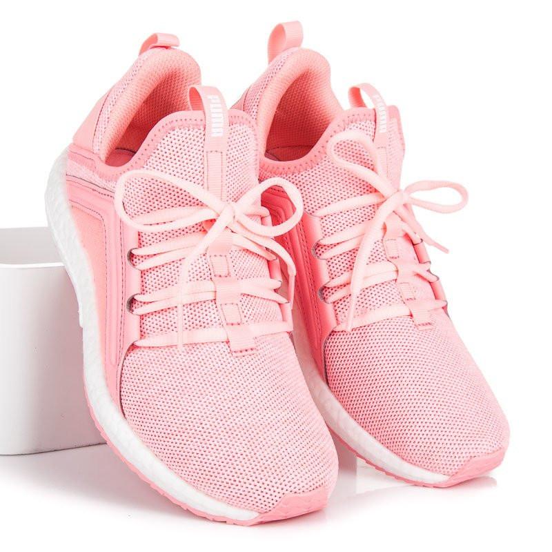 c692367639807 Moderné ružové športové tenisky zn.Puma - Dámske členkové tenisky ...