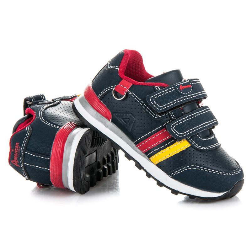 Módne modré detské športové botasky - Detské tenisky - Locca.sk c5064b257d4