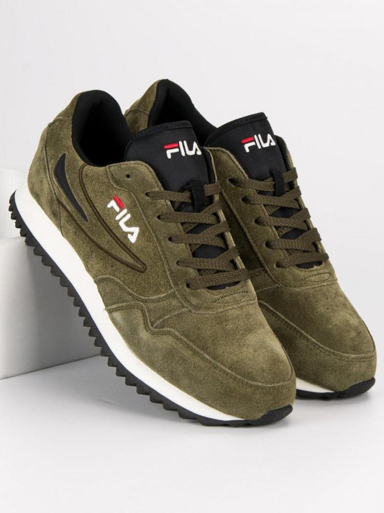 9900bf5de67b6 Módne pánske zelené tenisky a športová obuv bez podpätku - Pánske ...