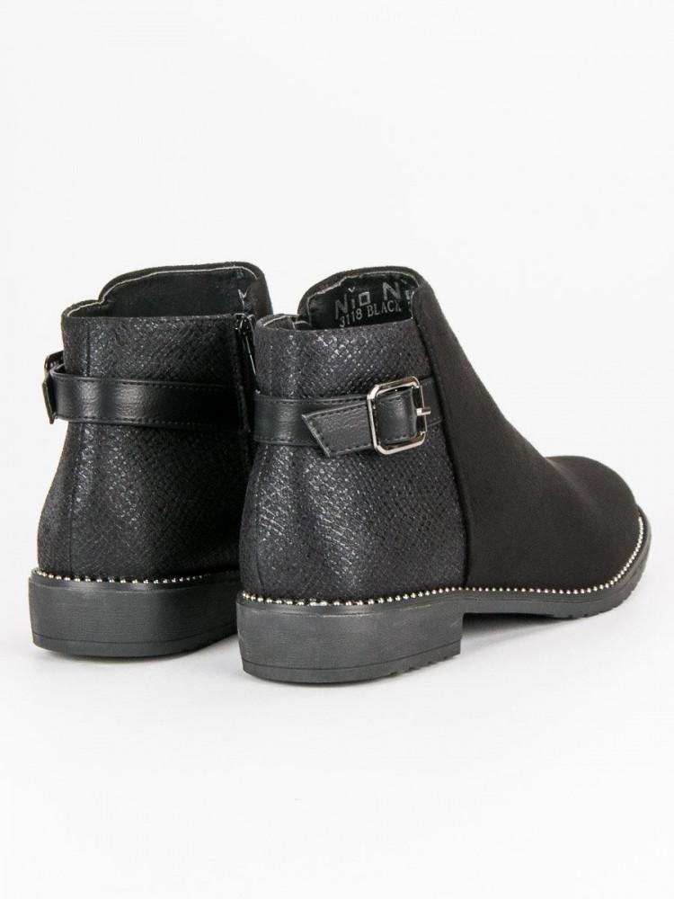 0f00bf5c05 Nízke čierne dámske topánky - Dámske topánky - Locca.sk
