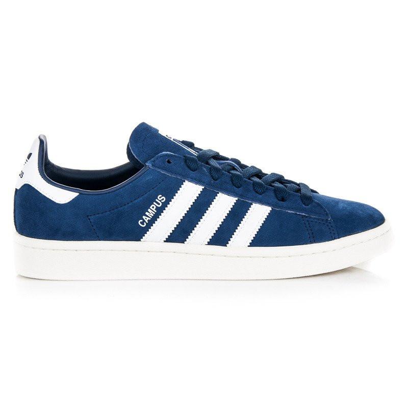Originálne modré kožené tenisky zn.Adidas - Pánske tenisky - Locca.sk 78b444e1cff