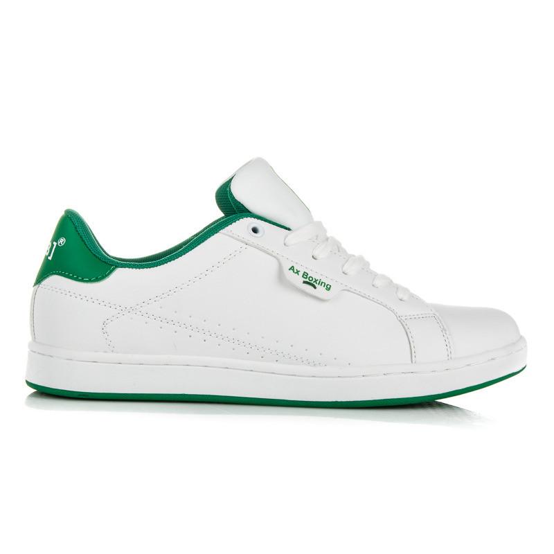 0a48c5a6b6de6 Perfektné bielo-zelené pánske tenisky - Pánske tenisky - Locca.sk