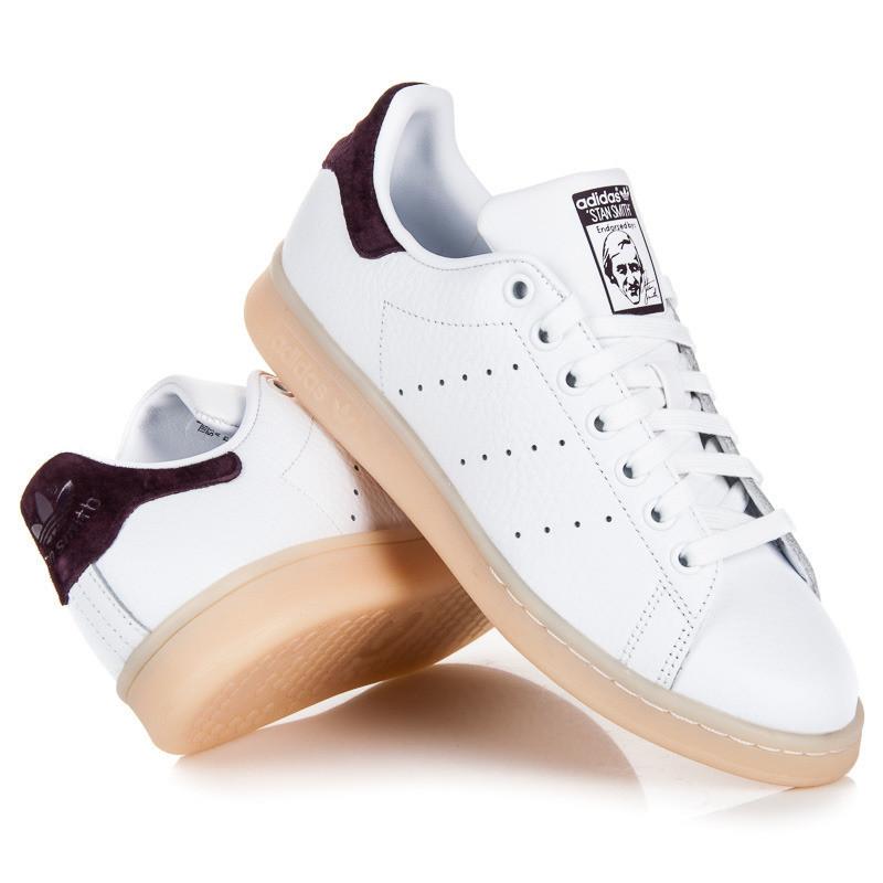 Perforované biele tenisky Adidas - Dámske členkové tenisky - Locca.sk aedceac47b9
