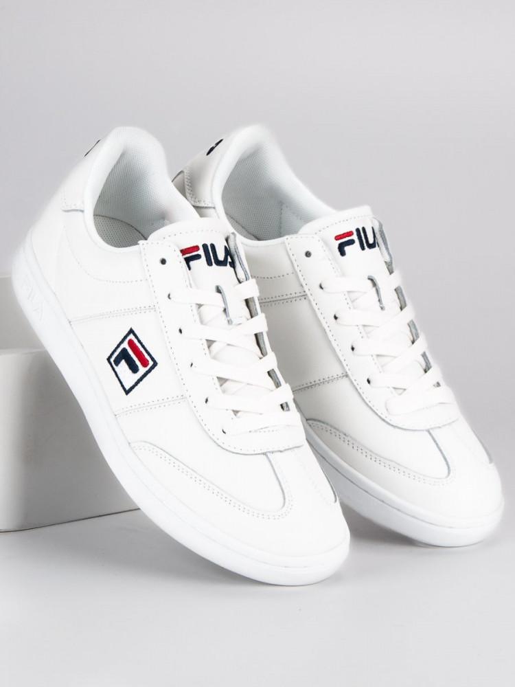 Športové biele pánske tenisky značky Fila