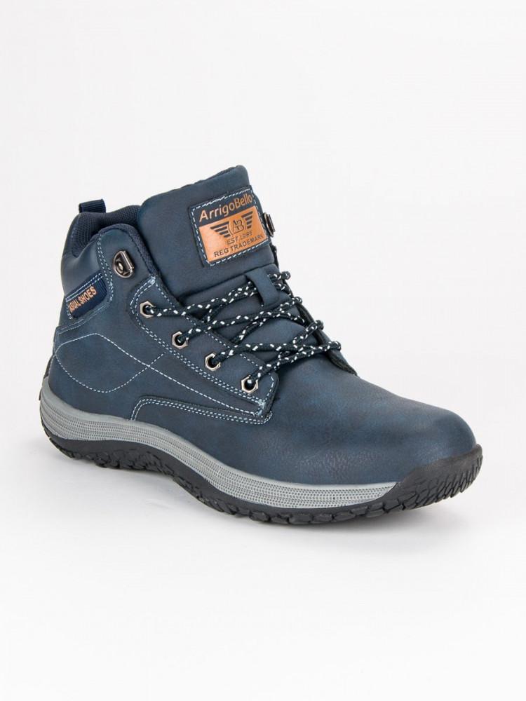 85631e1ef691 Športové modré pánske topánky - Pánska zimná obuv - Locca.sk