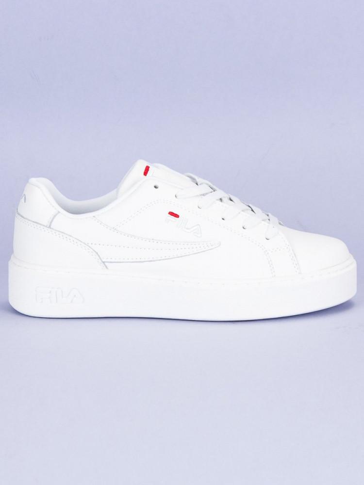 6ee6049142b11 Štýlové biele tenisky od značky Fila - Dámske členkové tenisky ...