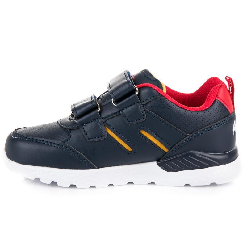 9987dd1f0 Štýlové modré chlapčenské kožené topánky na suchý zips - Detské ...