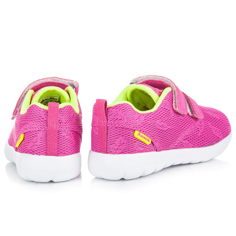 Textilné ružové detské tenisky so zapínaním na suchý zips - Detské ... 17e7b6224ee