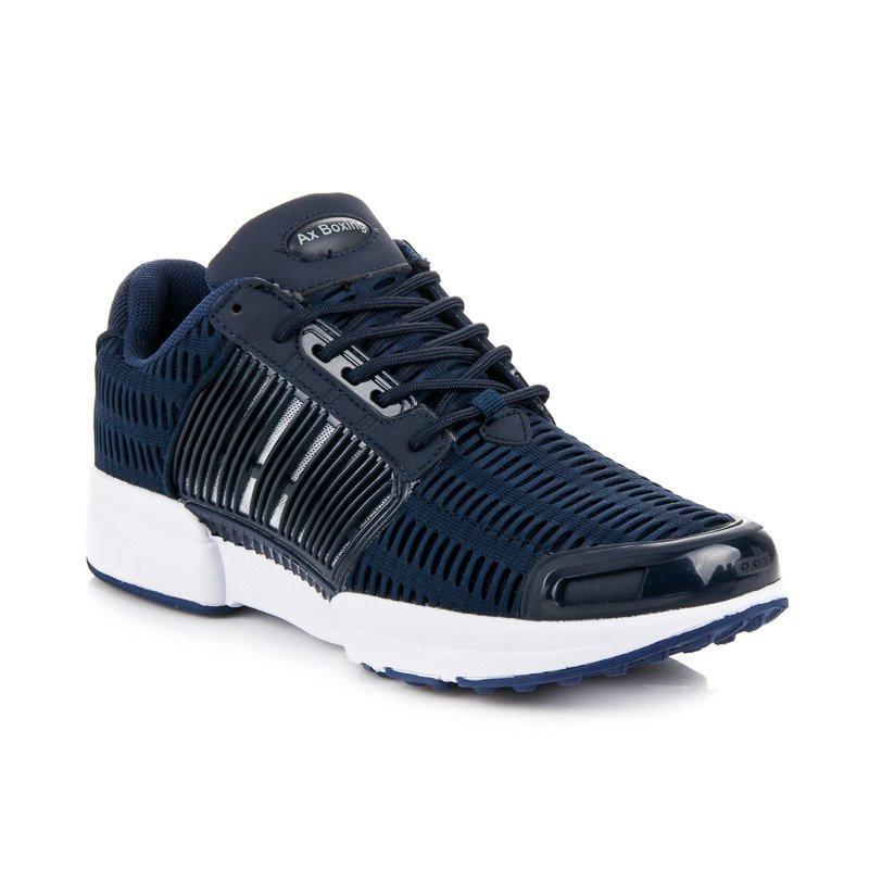 515084f3a572 Vzdušné modré športové tenisky - Pánske tenisky - Locca.sk