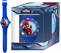 CARTOON WALT DISNEY KID WATCH Mod. SPIDERMAN