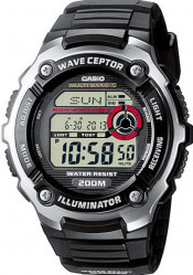 CASIO WAVECEPTOR ILLUMINATOR RADIO CONTROLLED