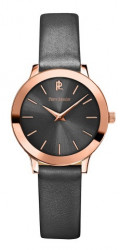 PIERRE LANNIER WATCHES Hodinky PIERRE LANNIER model Grey Leather 023K989