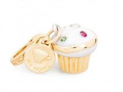 ROSATO SILVER JEWELS HOME COLLECTION Mod. MUFFIN  SWAROSKY  - Charms