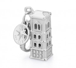 ROSATO SILVER JEWELS MY CITY COLLECTION Mod. CAMPANILE FIRENZE  - Charms