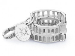 ROSATO SILVER JEWELS MY CITY COLLECTION Mod. COLOSSEO ROMA  - Charms
