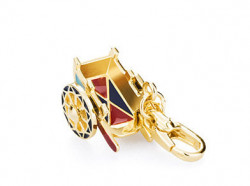 ROSATO SILVER JEWELS MY CITY COLLECTION Mod. SICILIAN CART  - Charms