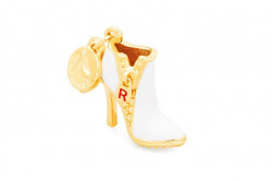 ROSATO SILVER JEWELS SHOES COLLECTION Mod. BOOT    - Charms